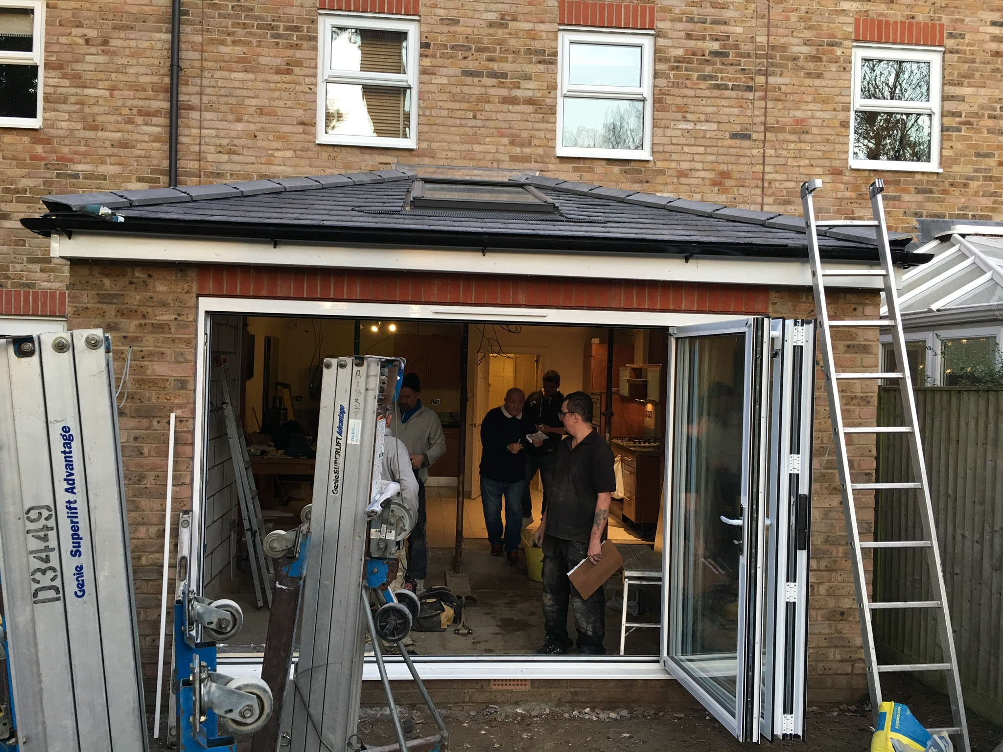 EXTENSION, VELUX WINDOW, EXTENSION, 321 GARAGE CONVERSIONS