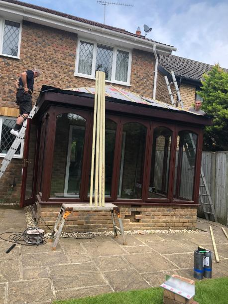 Tiled Conservatory Roof Cost >> Conversion, Price to Convert wooden conservatory, grp ...